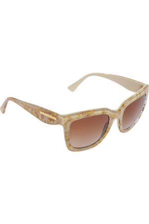 Dolce & Gabbana Women Square - Gold Havana/ Gradient DG4197 Square Sunglasses