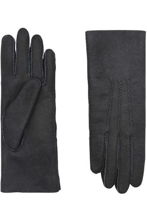 AGNELLE Women Gloves - Curly shearling