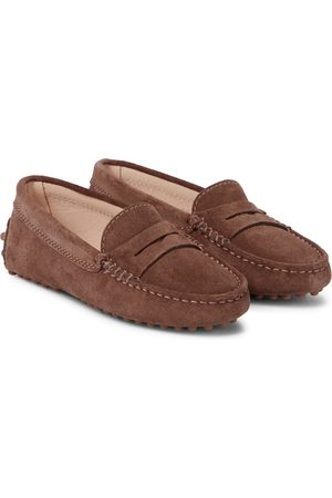 Tod's Gommino suede loafers
