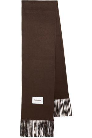 Nanushka Sidell fringed scarf