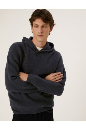 Marks & Spencer Cotton Knitted Hoodie