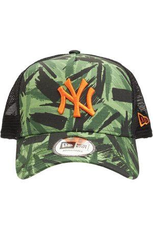 New Era Men Caps - Mlb Camo Ny Yankees A-frame Trucker Cap