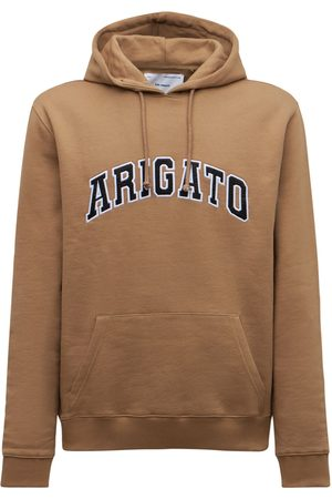 Axel Arigato Men Hoodies - College Logo Organic Cotton Hoodie