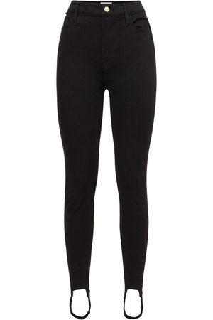 Frame Women High Waisted - Ali High Waist Cig Stirrup Jeans
