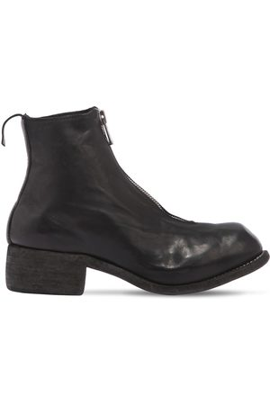 GUIDI Women Ankle Boots - 40mm Pl1 Zip-up Leather Ankle Boots