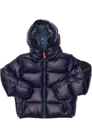 save the duck Boys Puffer Jackets - Hooded Nylon Puffer Jacket