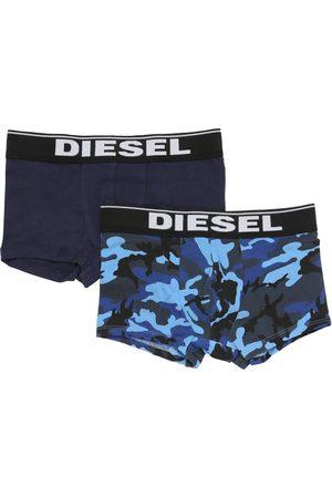 Diesel Set Of 2 Cotton Jersey Boxer Briefs