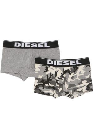Diesel Boys Boxer Shorts - Set Of 2 Cotton Jersey Boxer Briefs