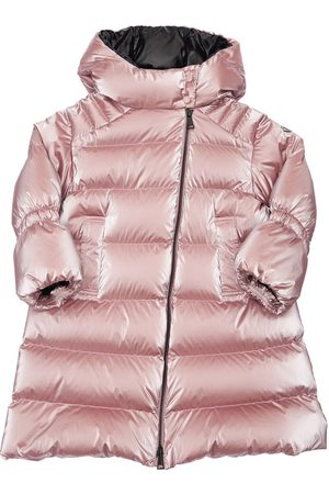 Moncler Girls Jackets - Odetta Hooded Nylon Down Coat