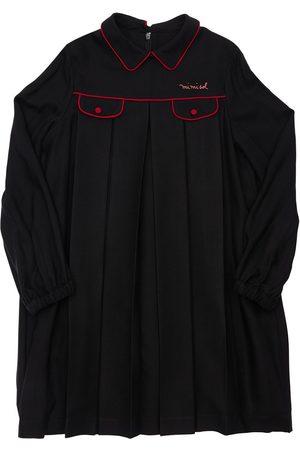Mimisol Girls Dresses - Pleated Viscose & Cupro Dress