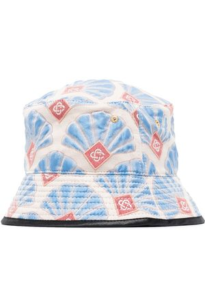 Casablanca Men Hats - Shell pattern bucket hat