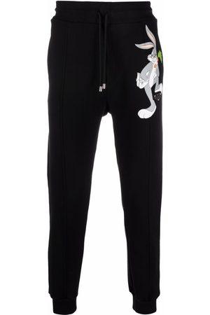 Philipp Plein Men Sweatpants - Looney Tunes cotton track pants