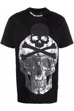 Philipp Plein Short Sleeve - Skull-print short-sleeve T-shirt