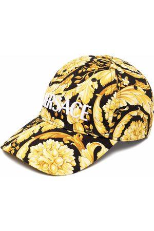 VERSACE Men Caps - Baroque pattern-print cap