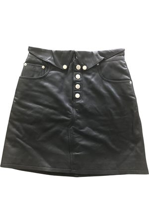 The Kooples Women Mini Skirts - Fall Winter 2019 leather mini skirt