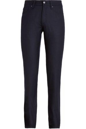 Ermenegildo Zegna Men Slim - Slim-cut wool jeans - Grey