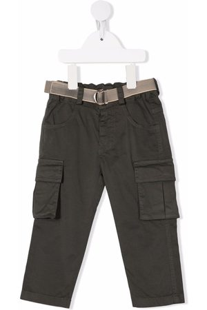 Lapin House Cargo Pants - Belted cargo trousers