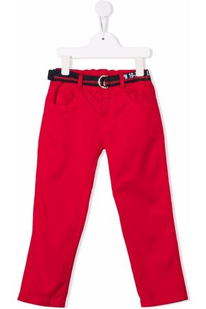 Lapin House Boys Chinos - Belted straight chinos