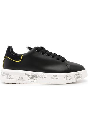 Premiata Women Sneakers - Leather lace-up sneakers