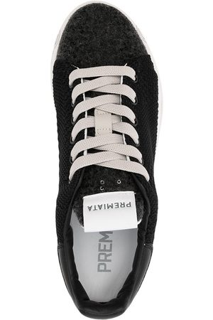 Premiata Women Sneakers - Textured lace-up sneakers