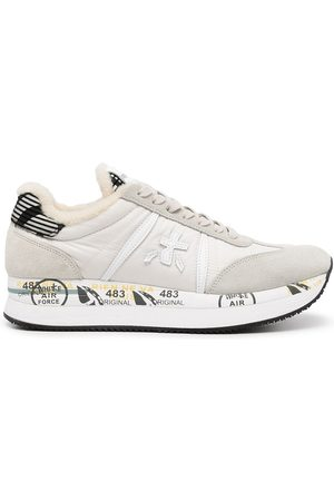Premiata Lace low-top trainers - Grey