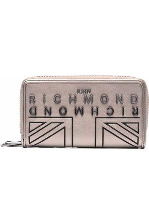 John Richmond Women Wallets - Logo-plaque wallet - Neutrals