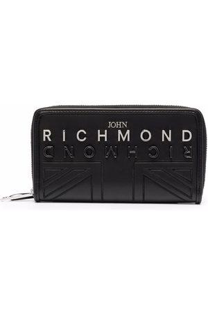 John Richmond Logo-plaque wallet
