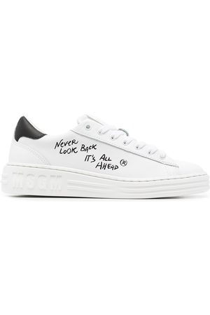 Msgm Women Sneakers - Low-top slogan trainers