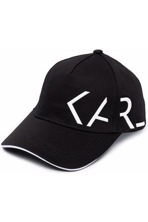 Karl Lagerfeld Side logo-print baseball cap