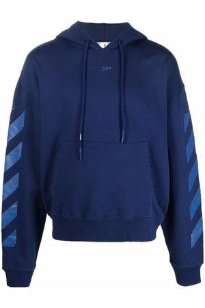 Off-White Men Hoodies - Arrow logo cotton hoodie