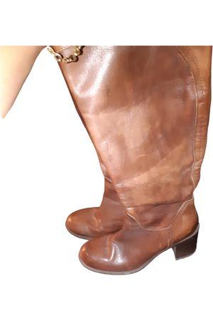 Kookai Women Boots - Leather riding boots