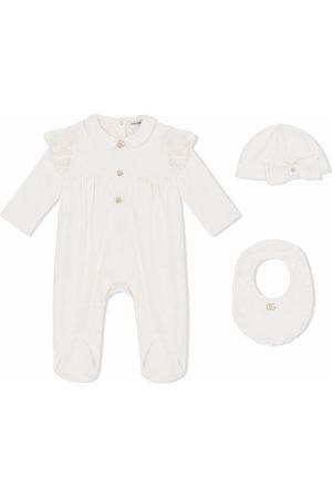 Dolce & Gabbana Bodysuits & All-In-Ones - Three-piece babygrow set