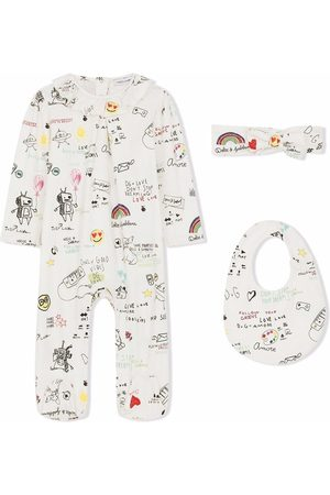 Dolce & Gabbana Bodysuits & All-In-Ones - Graphic print babygrow set