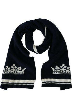 Dolce & Gabbana Men Pocket Squares - Cashmere scarf & pocket square