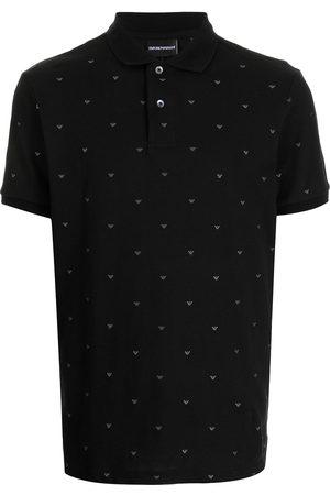 Emporio Armani Eagle-embroidered polo shirt