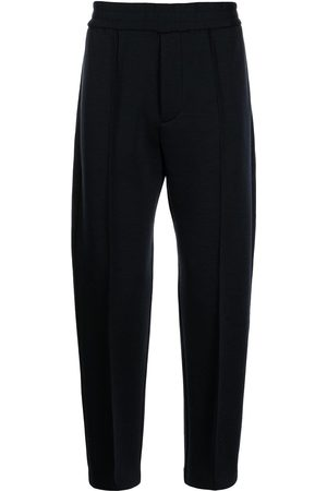 Emporio Armani High-waisted slim-fit trousers
