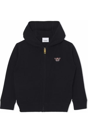 Burberry Girls Hoodies - Thomas Bear motif hoodie