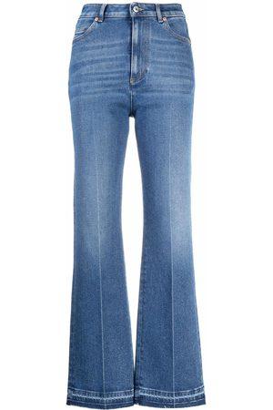 VALENTINO Flared-leg jeans