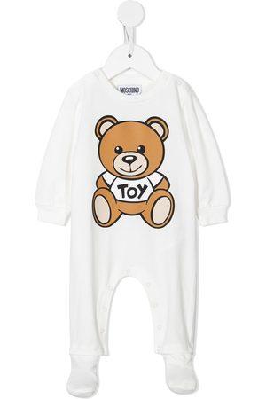 Moschino Teddy-bear print cotton pyjamas