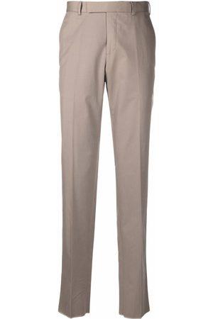 Ermenegildo Zegna Straight-leg cotton chinos - Neutrals