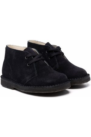 Il gufo Boys Ankle Boots - Suede lace-up ankle boots
