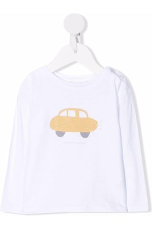 KNOT A Happy Car long-sleeved T-shirt