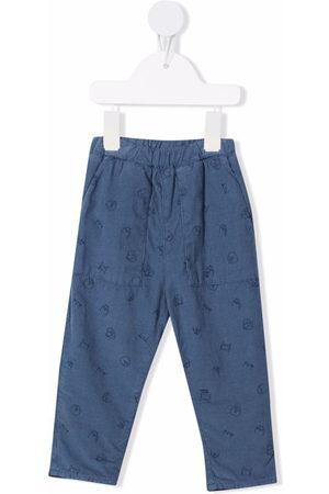 KNOT Chinos - Daiki corduroy elasticated-waist trousers