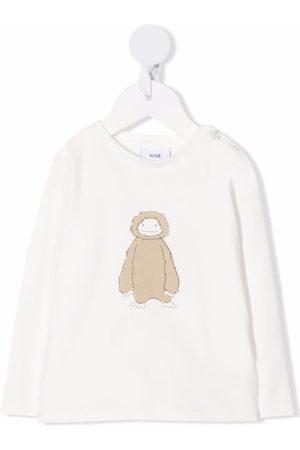 KNOT Long Sleeve - Fluffly Creature long-sleeved T-shirt