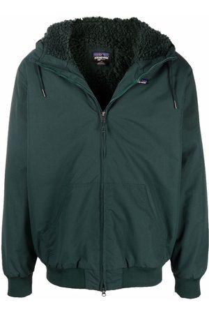 Patagonia Men Bomber Jackets - Hooded bomber jacket