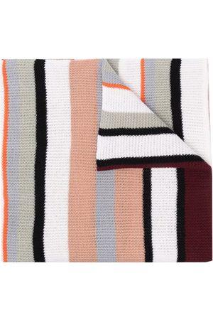 Missoni Striped wool scarf - Neutrals