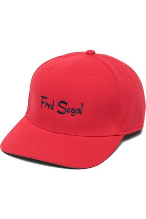 Fred Segal Embroidered-logo snapback cap