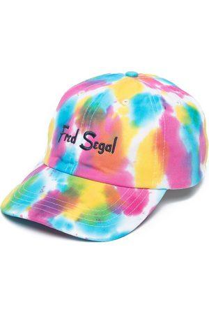 Fred Segal Caps - Embroidered-logo tie-dye cap - Multicolour