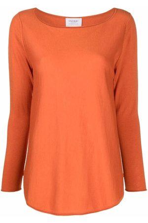 Snobby Sheep Women Tops - Wanita silk-cashmere knitted top