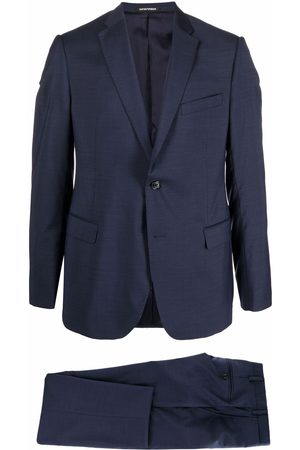 Emporio Armani Men Suits - Single-breasted wool suit